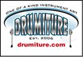 Drumiture - One of a Kind Instrument Art